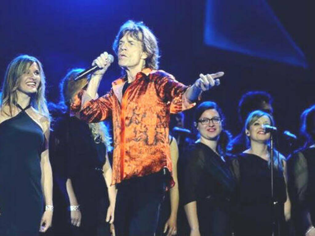 Coro di Mateja con Jagger