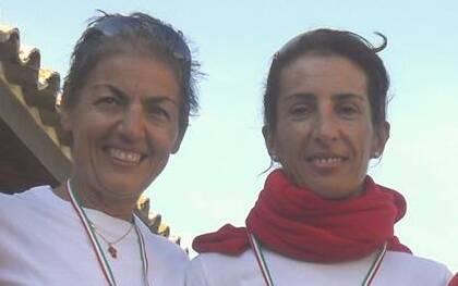 Bonaria Cera (sx) e Cecilia Tola (dx)
