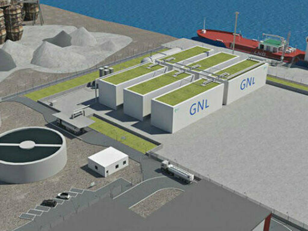 Oristano - deposito costiero GNL 2 - Metano - Gas