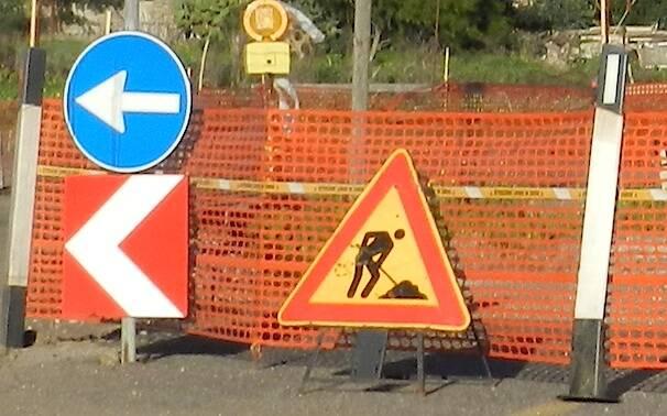Strada - lavori - Cantiere