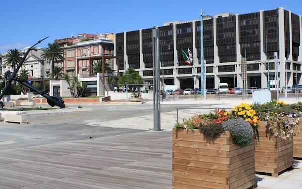 Cagliari - Via Roma - Porto - Consiglio regionale
