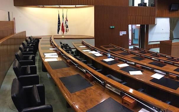 Consiglio regionale - Aula