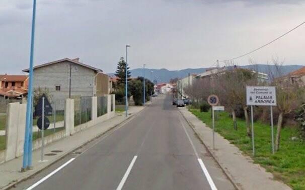 Palmas Arborea - Ingresso Strada provinciale 53