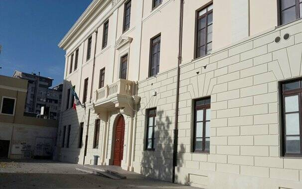 Oristano - Scuola media Piazza Manno