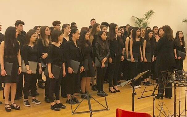 Concorso Verona - Coro LIceo Musicale Benedetto Croce