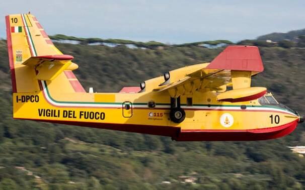 Canadair Vigili del fuoco