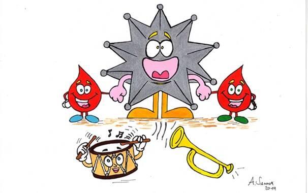 Oristano - raccolta sangue cavalieri Sartiglia