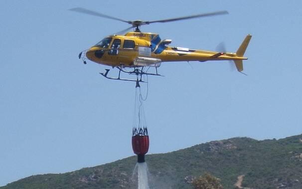 Elicottero forestale antincendio