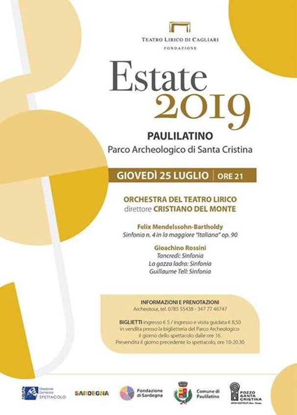 Paulilatino - orchestra - estate 2019
