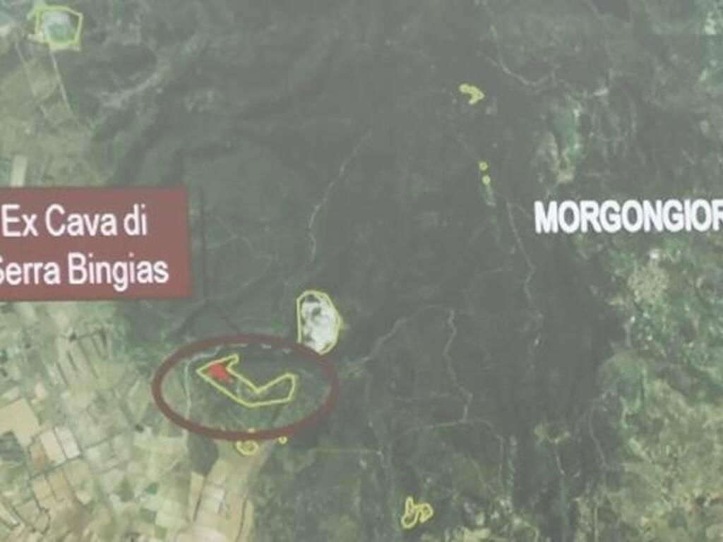 Morgongiori - Serra Bingias - sito discarica