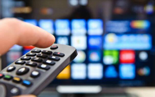televisore - telecomando -digitale terrestre