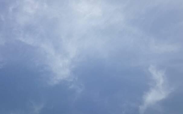Cielo velato - nuvole