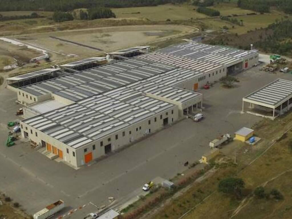 Masangionis Rifiuti impianto Consorzio industriale Oristano Arborea
