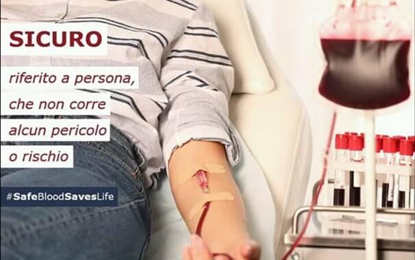 Avis - campagna donazione sangue
