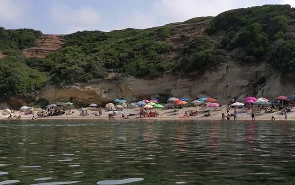 S'Archittu - spiaggia arco
