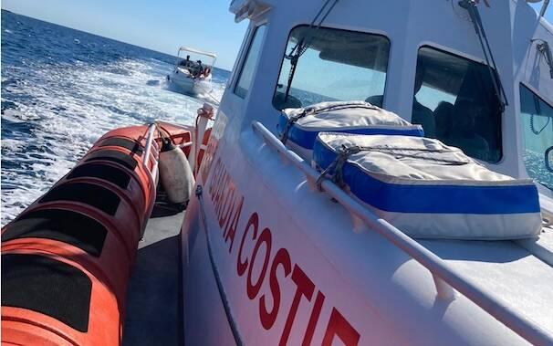 Capitaneria motovedetta soccorso