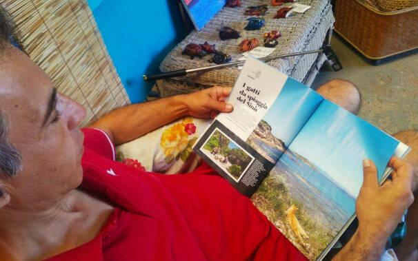 oasi felina su pallosu nella rivista bell'italia