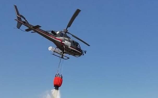INcendi elicottero
