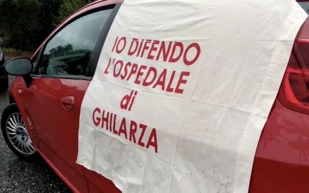 Ghilarza ospedale protesta