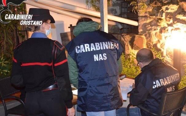 Carabinieri covid esercizi pubblici nas