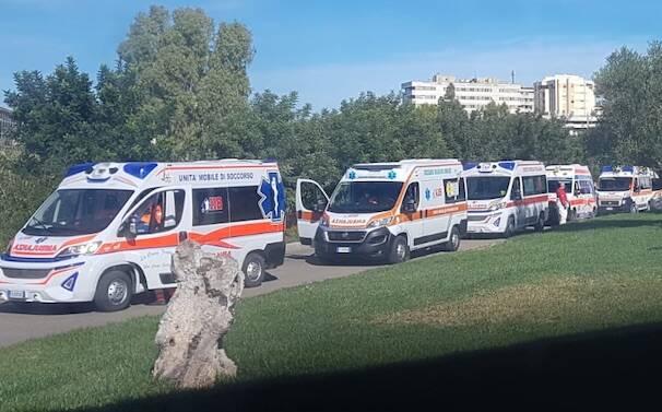 Ospedale san martino ambulanze covid
