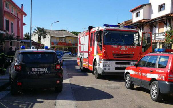 serramanna-carabinieri-vigili-fuoco-donna-morta