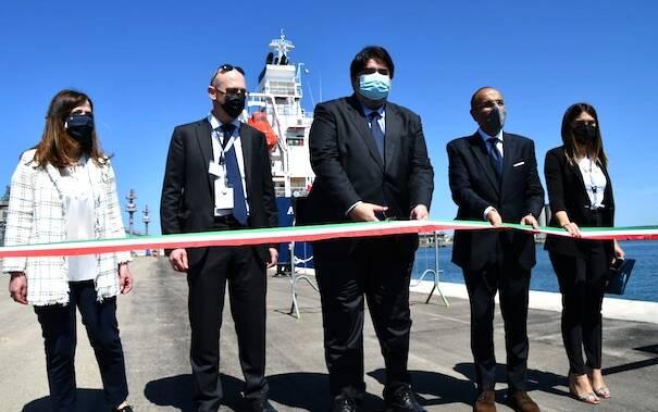 Hi gas inaugurazione porto metano oristano