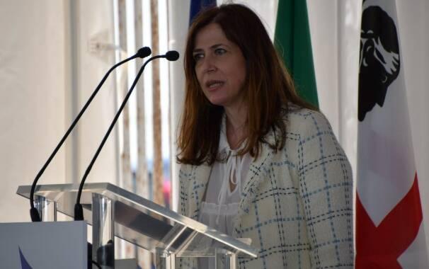 viceministra allo sviluppo economico Alessandra Todde
