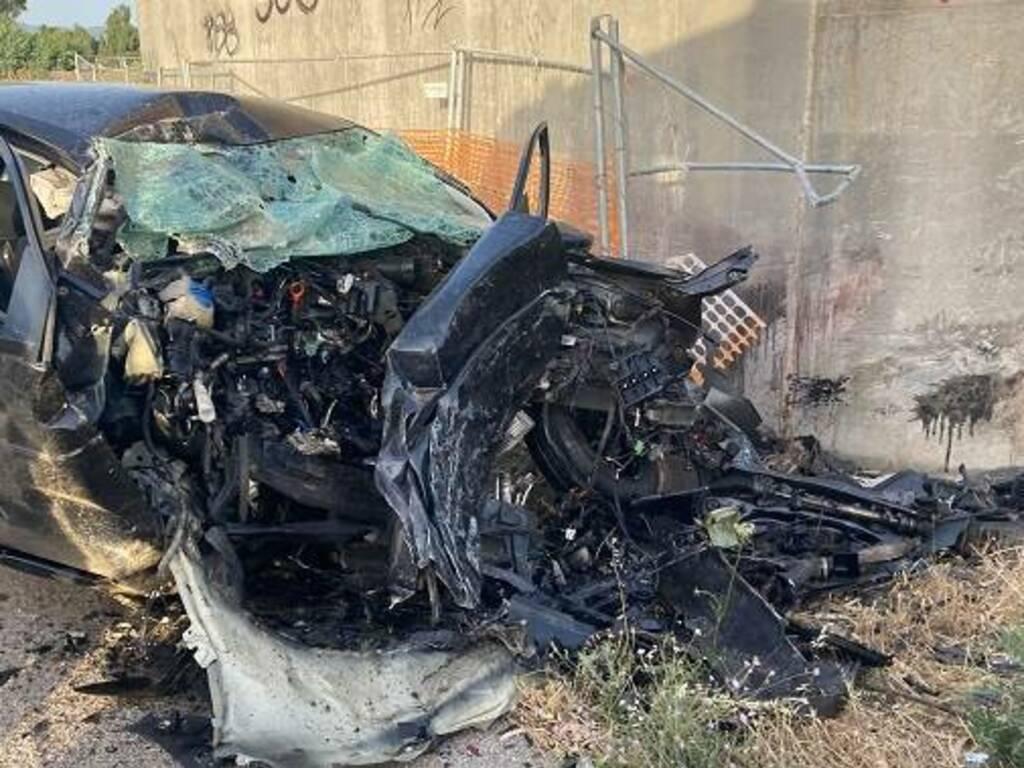 Incidente stradale Simaxis 25 giugno