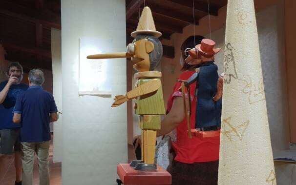 Mostra Pinocchio and friends