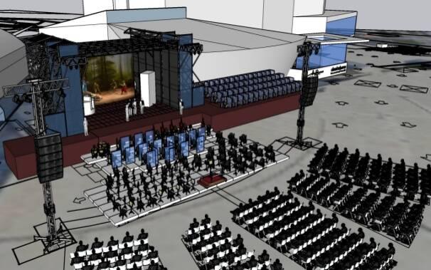 rendering 2 Parco della Musica 2021