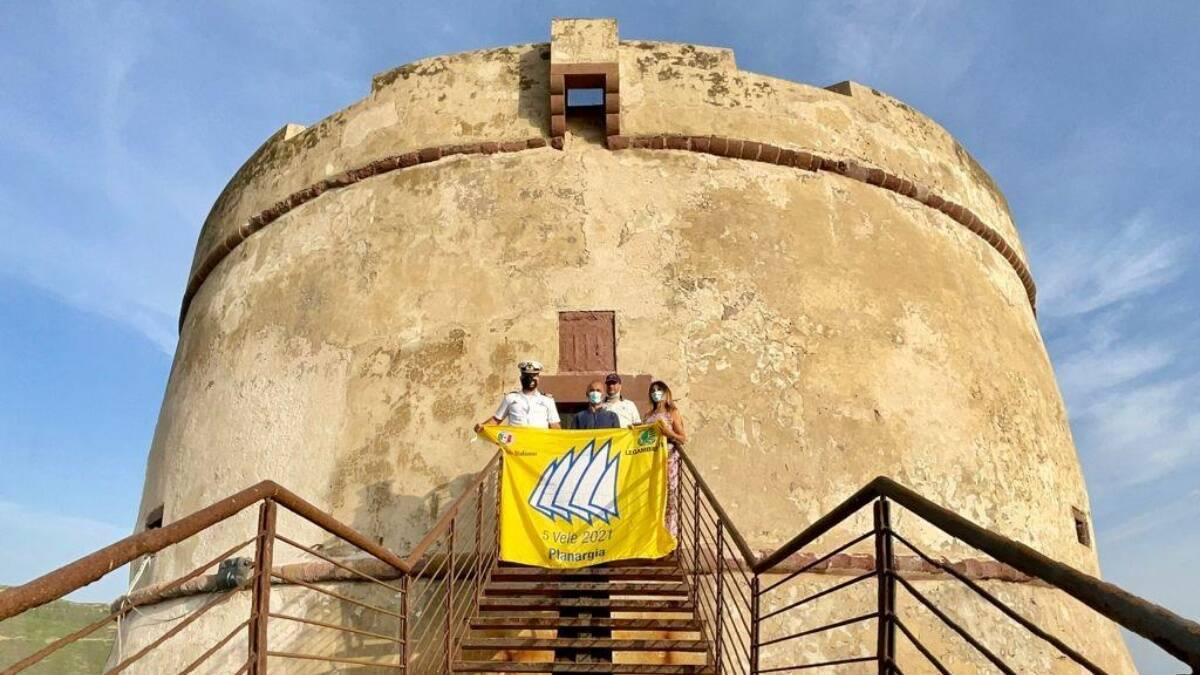 Bosa Legambiente bandiera 5 vele 2021