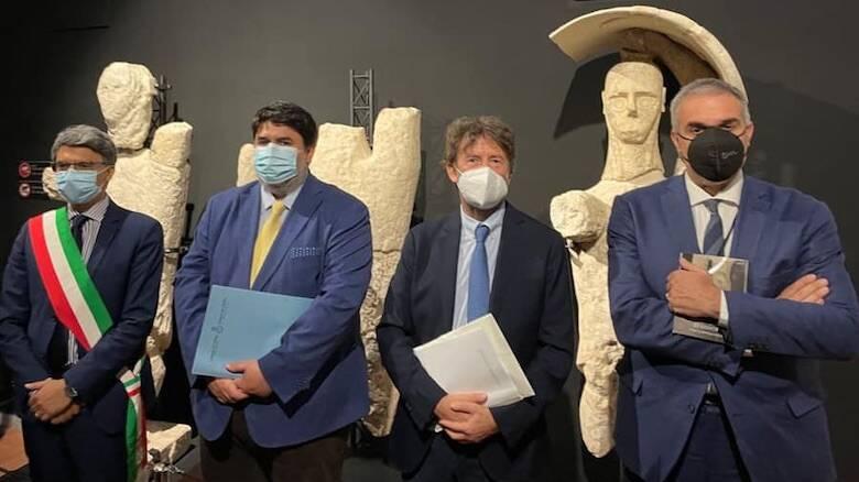 Inaugurazione Sala Polivalente museo di Cabras