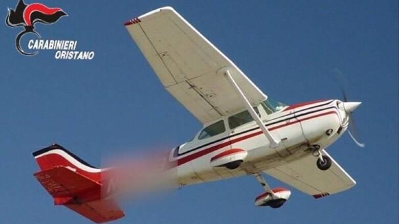 Oristano - operazione dei carabinieri - vola in basso - aeroplanino