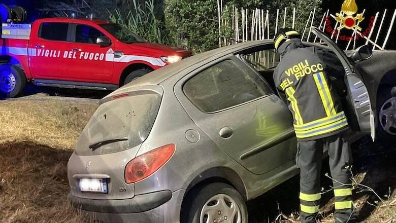 Incidente stradale Riola Sardo Putzu Idu