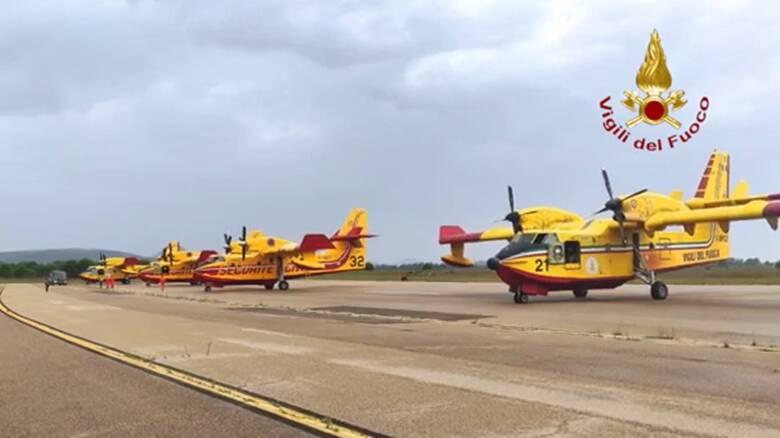 Incendio - aerei canadair francesi