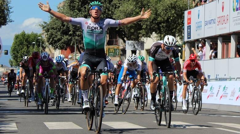 La seconda tappa della Settimana ciclistica italiana