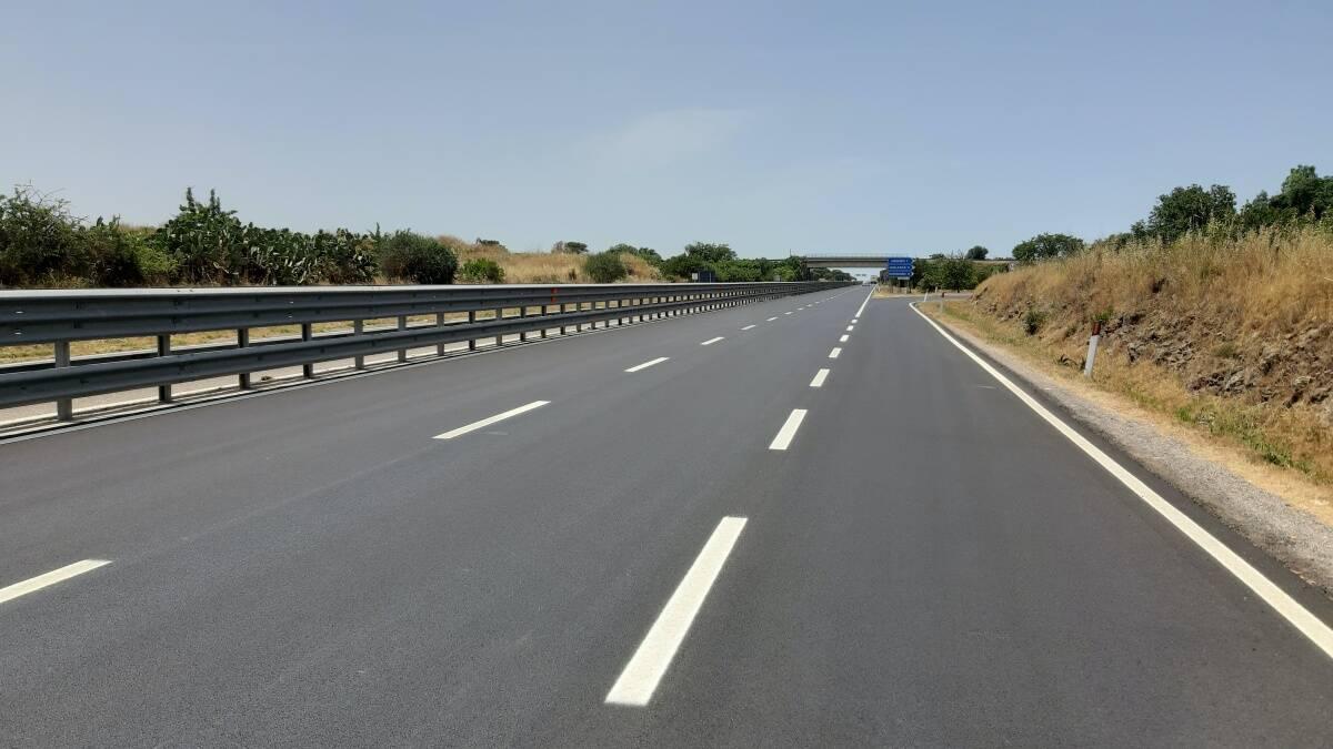 lavori stradali, nuovo asfalto sulla statale 131 DCN