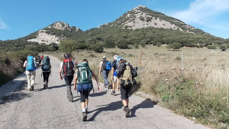 Monte gonare - camminantes - documentario - salita