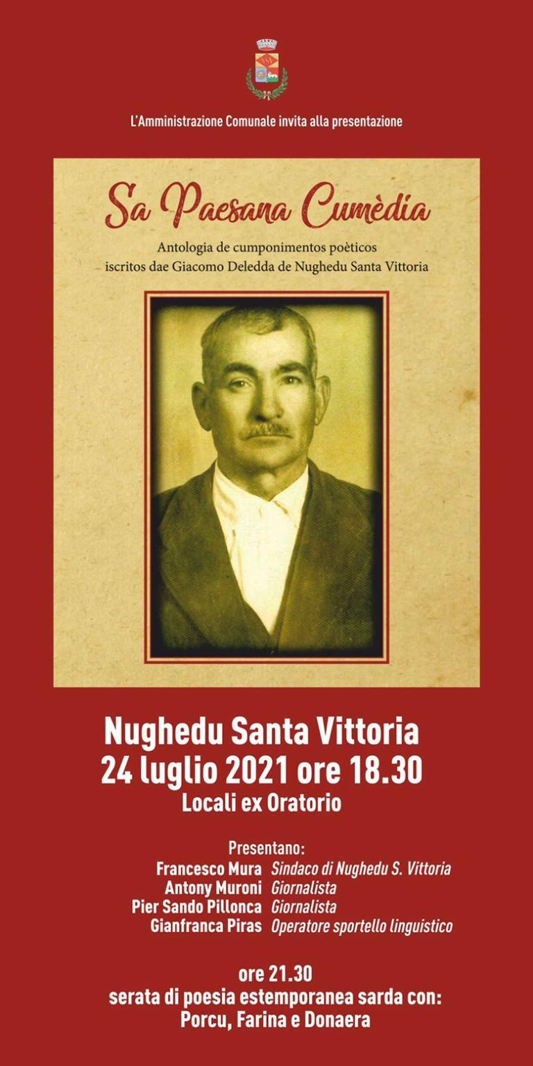 Nughedu - evento - commedia - locandina