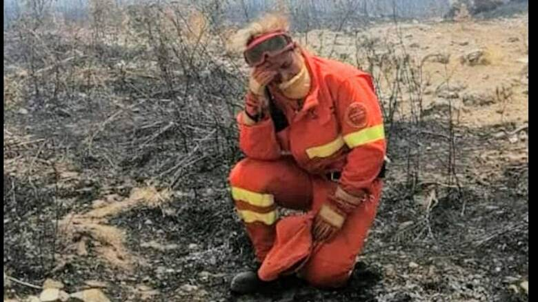 Operaia Forestas - incendio