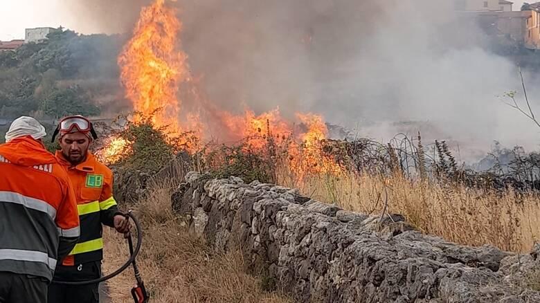 Sagama - incendio - Foto Rita
