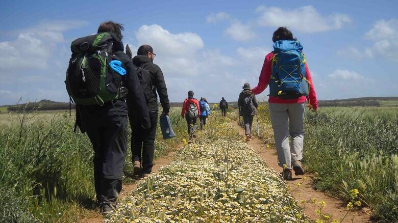 sinis - camminantes - documentario novenari - sardegna - corsica