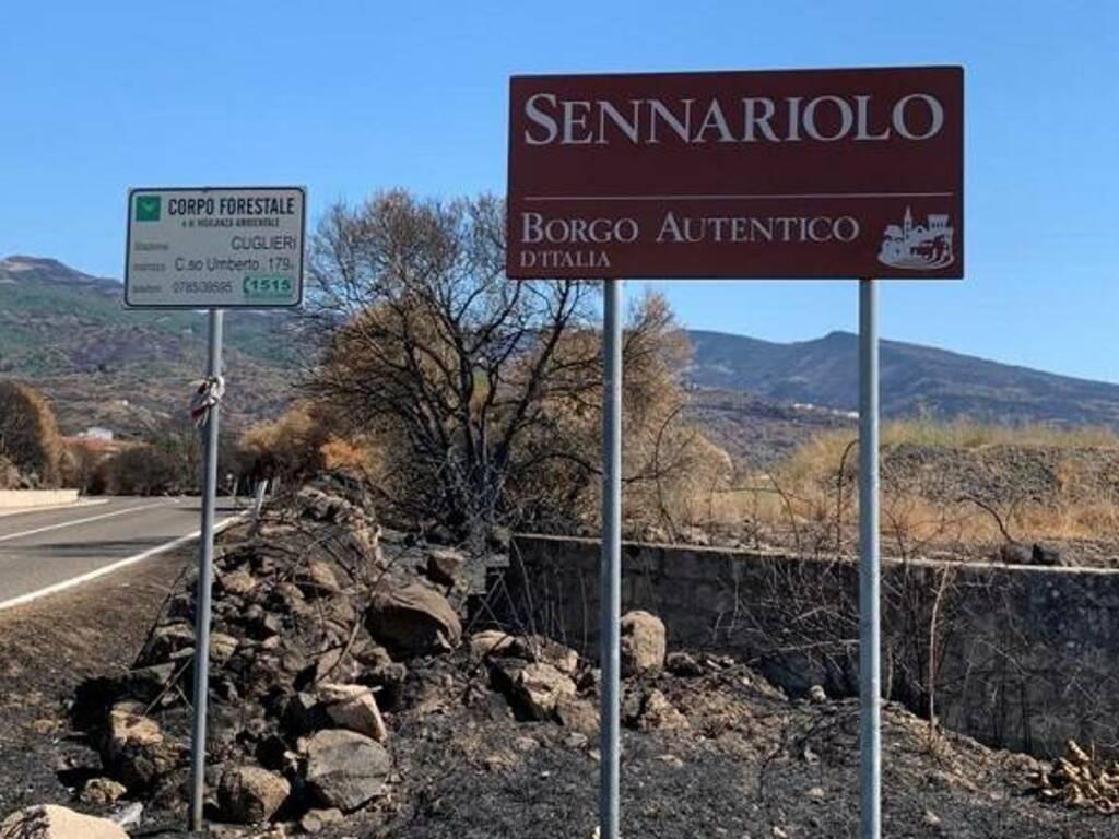 L'ingresso di Sennariolo