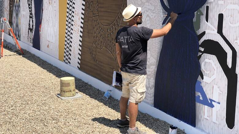 Mogoro Murale Patta Artist
