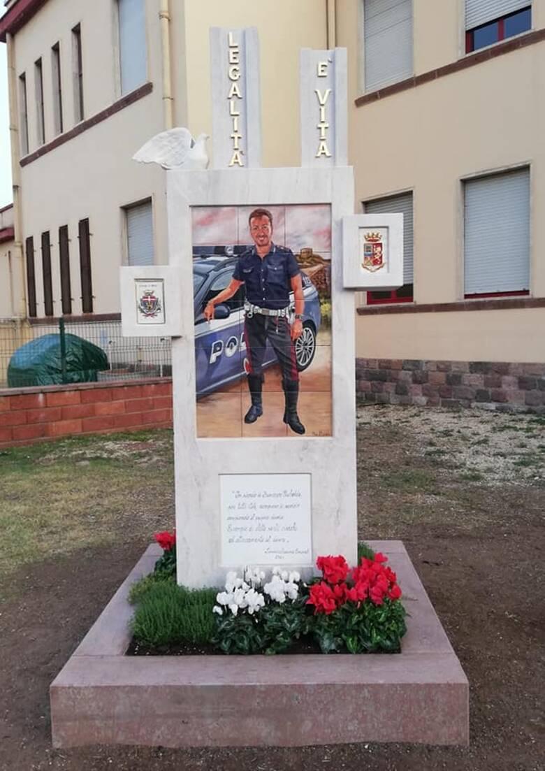 Bosa - Parco poliziotto ucciso - Francesco Pischedda