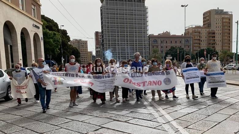 Cagliari - manifestazione per la sanità - 24 settembre ORISTANO