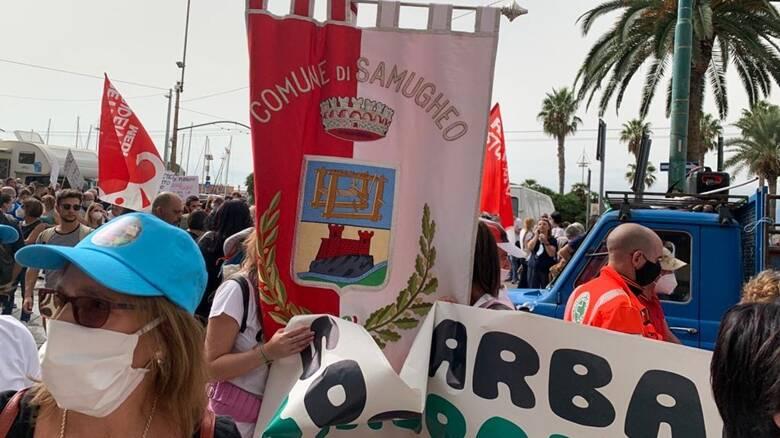 Cagliari - manifestazione per la sanità - 24 settembre - Samugheo