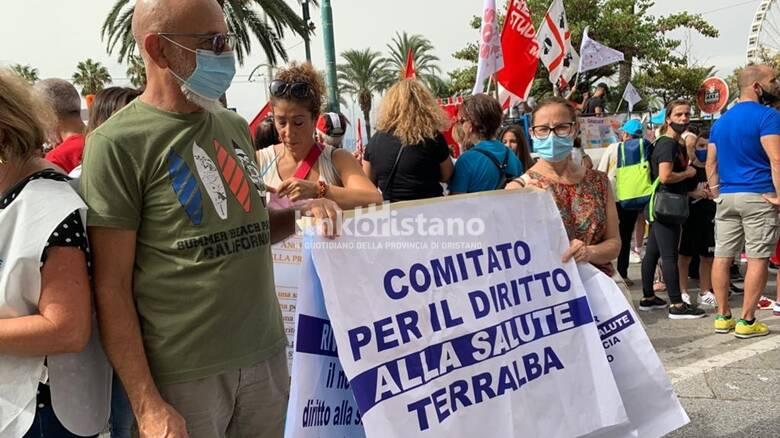 Cagliari - manifestazione per la sanità - 24 settembre - Terralba