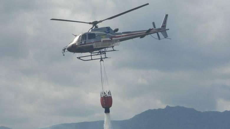 Elicottero antincenido forestale